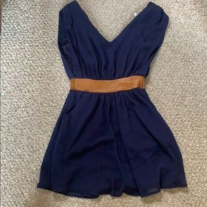 CR navy dress with pockets!